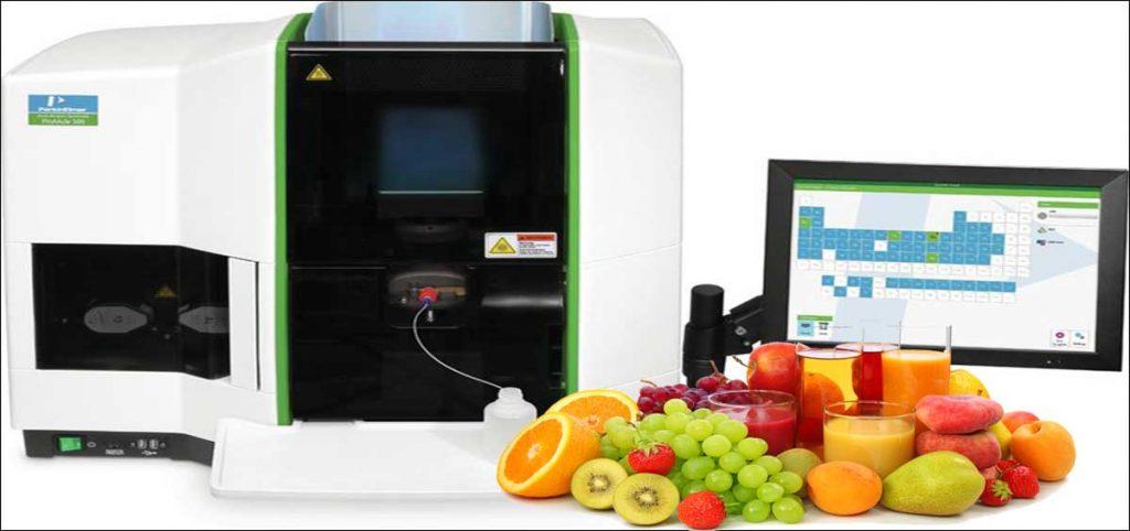 آنالیز آب میوه با دستگاه جذب اتمی