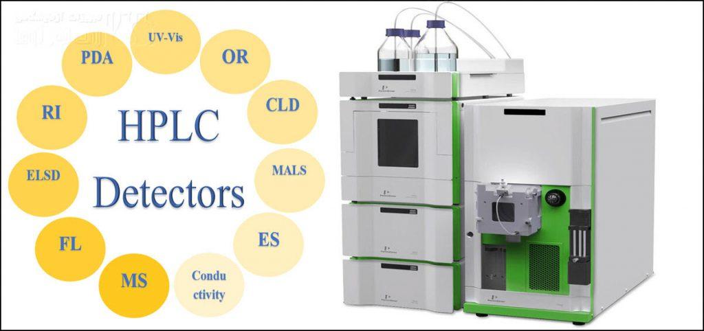 انواع آشکارسازهای دستگاه HPLC