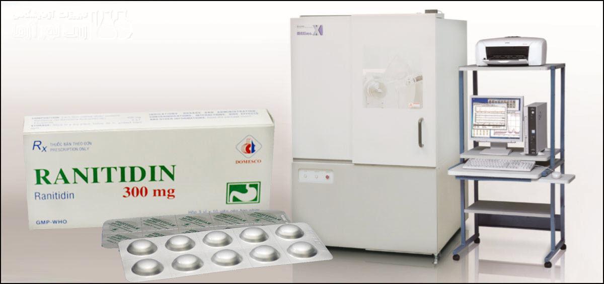 آنالیز پلی مورف های رانیتیدین با دستگاه پراش اشعه ایکس XRD