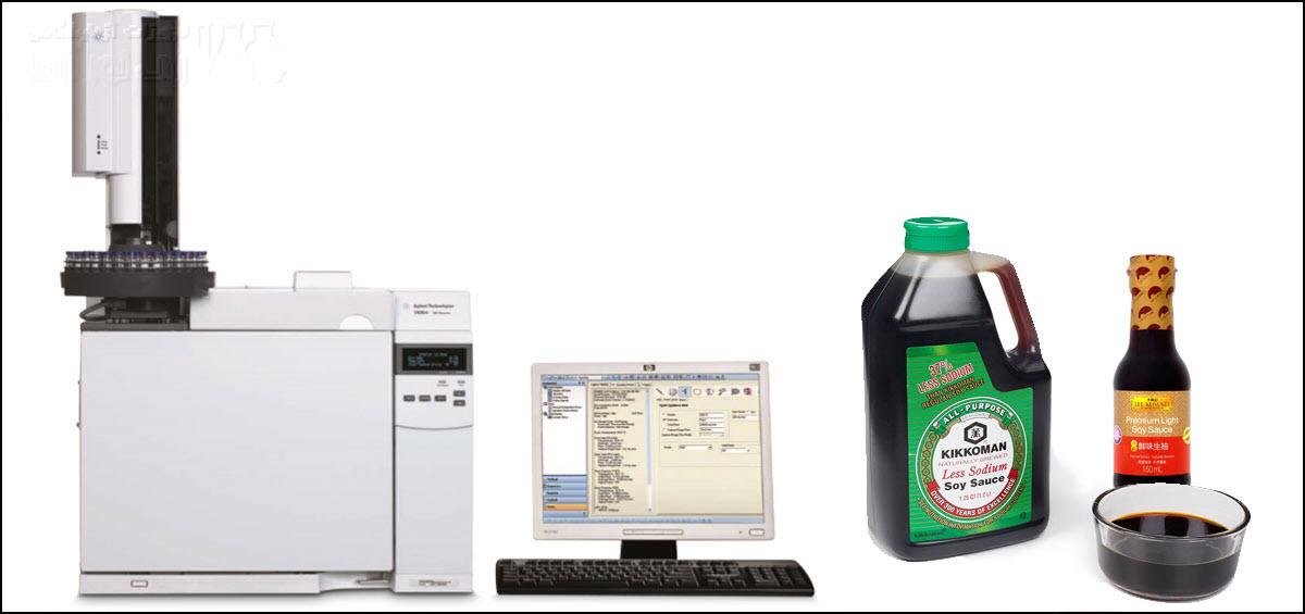 تعیین مواد نگهدارنده در غذا با دستگاه جی سی