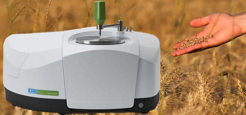 تعیین کیفیت گندم با دستگاه FTIR