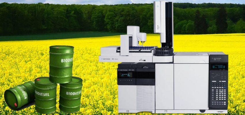 بررسی اسید چرب در بیودیزل با دستگاه GC Mass