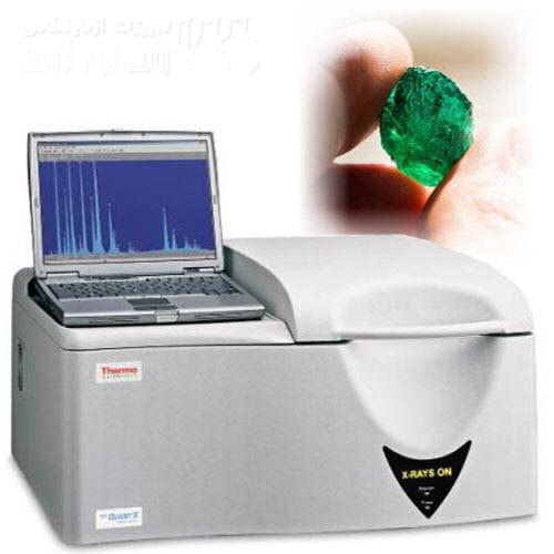 بررسی صحت سنگهای قیمتی با فلورسانس اشعه ایکس
