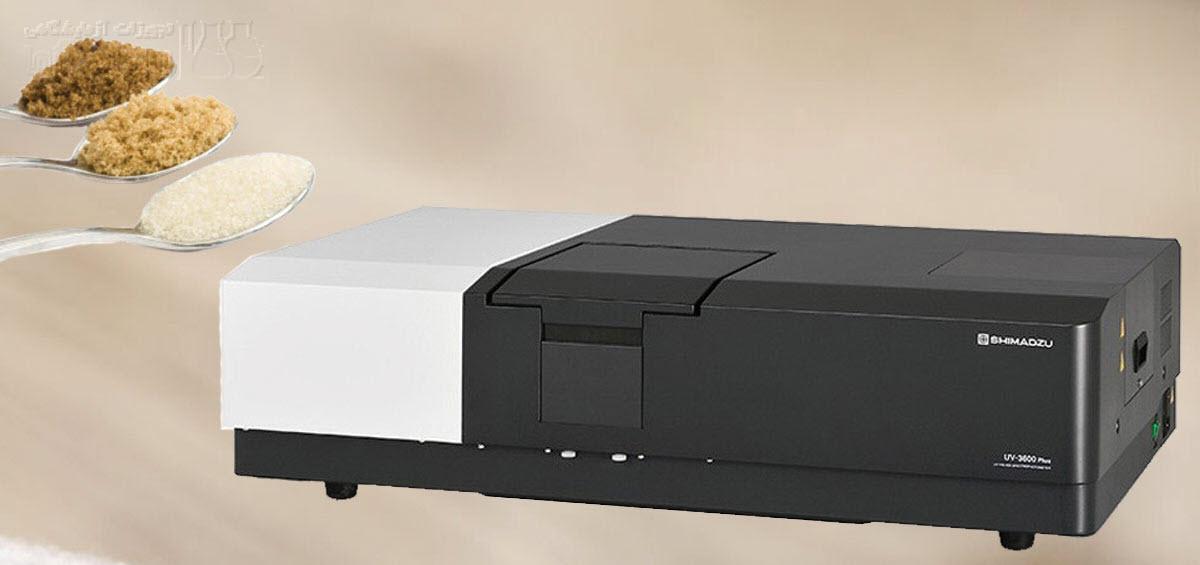 اندازه گیری رنگ انواع شکر با دستگاه اسپکتروفتومتر UV Vis