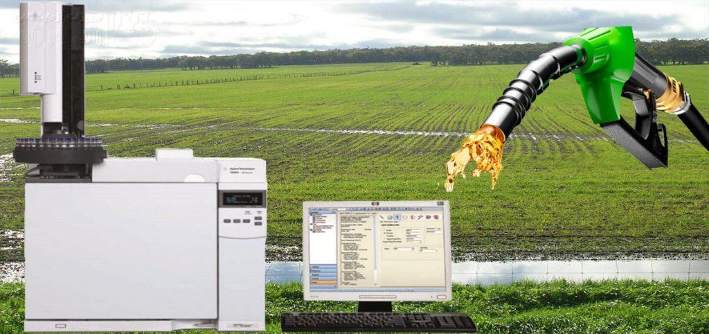 آنالیز MTBE با دستگاه Gas chromatography
