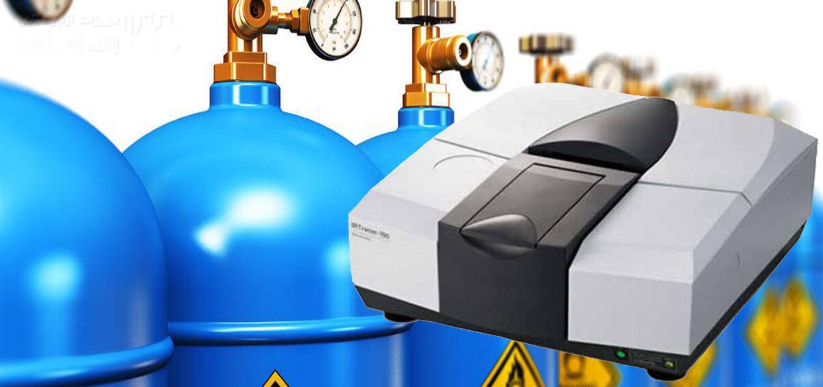 بررسی گاز ها با دستگاه اسپکتروسکوپی FTIR