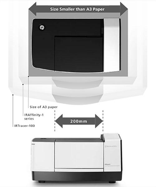 دستگاه FTIR سری IRSpirit با ابعاد کوچک