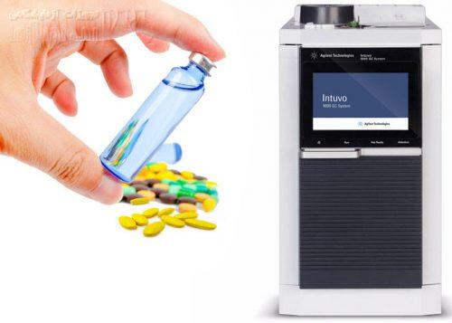 تعیین حلال های باقیمانده (RS) در دارو با دستگاه GC