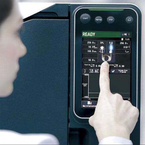 صفحه نمایش لمسی دستگاه Nexis GC-2030