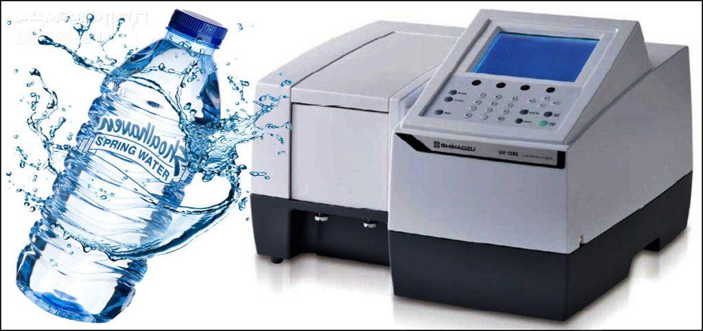ارزیابی سختی کل آب معدنی با دستگاه طیف سنج UV/Vis