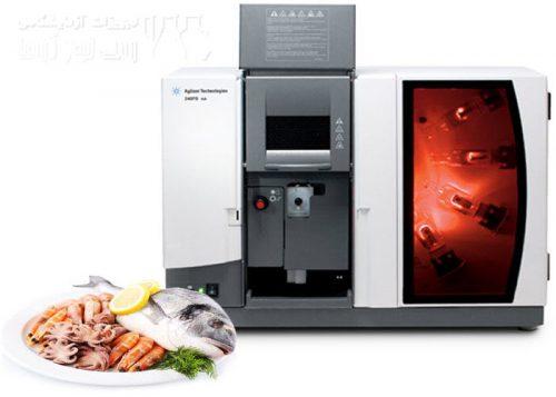آنالیز آلودگی فلزات در ماهی و غذا های دریایی با دستگاه Flame AA