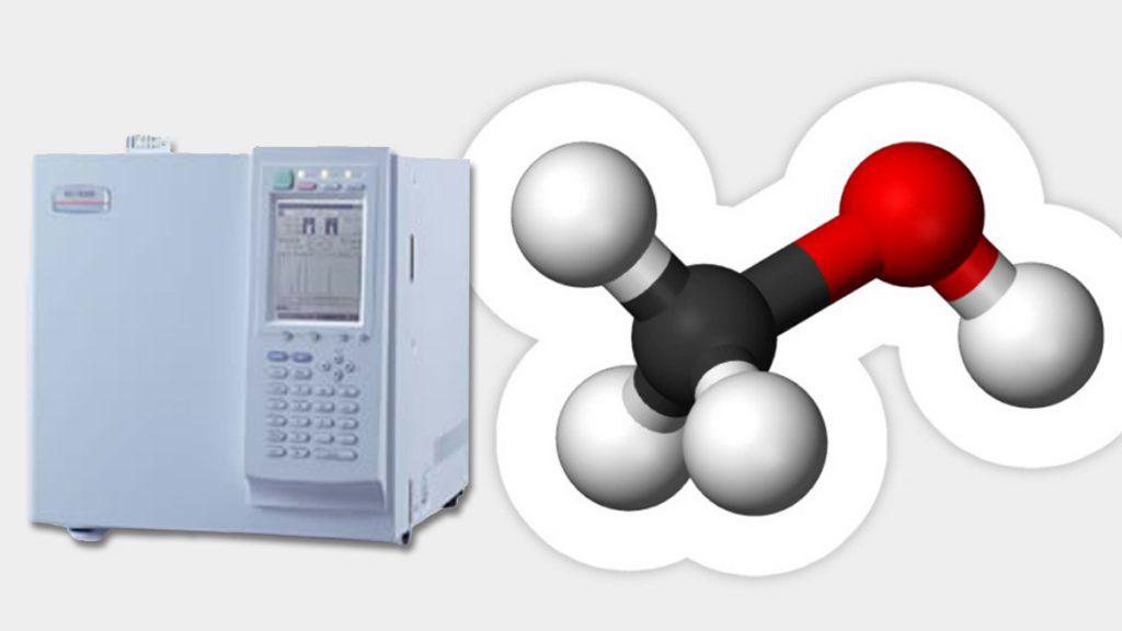 تشخیص متانول و اتانول در صنایع غذایی با استفاده از دستگاه جی سی
