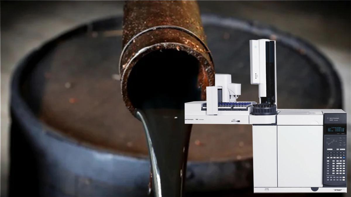 آنالیز ترکیبات نفت خام با دستگاه GC