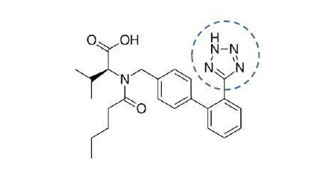 ساختار والسارتان برای آنالیز نیتروزامین در داروهای سارتان