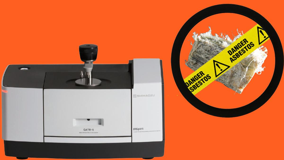 آنالیز آزبست موجود در آب، خاک و مواد معدنی با دستگاه FTIR