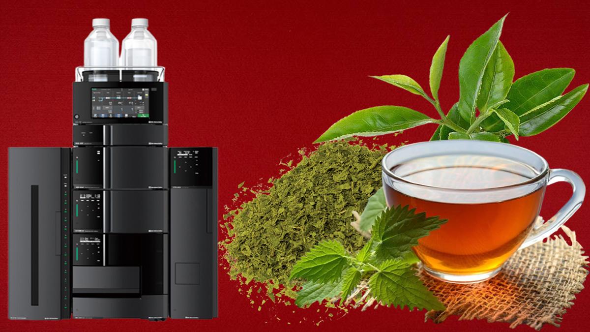 آنالیز و تجزیه و تحلیل کاروتنوئیدها در برگ چای سبز