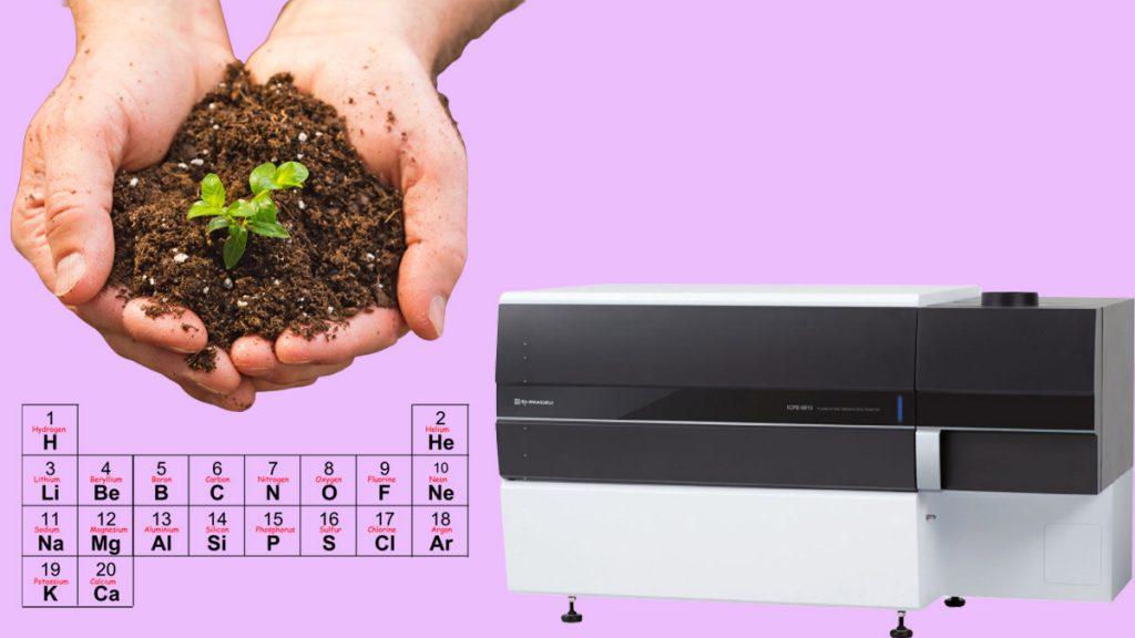 آنالیز مقادیر عناصر سمی در خاک با دستگاه ICP-MS 9800 شیمادزو