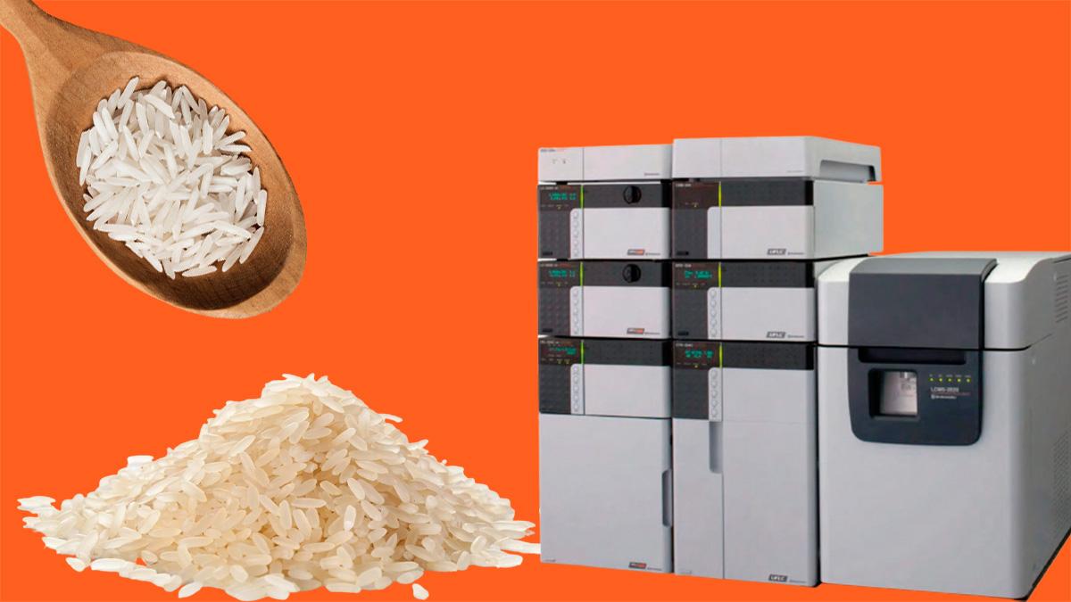آنالیز اسید های چرب در سبوس برنج با دستگاه LCMS