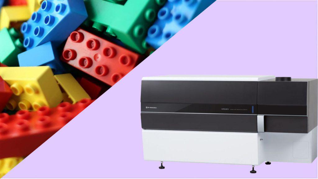 آنالیز فلزات سنگین در اسباب بازی ها با دستگاه ICPE-9800