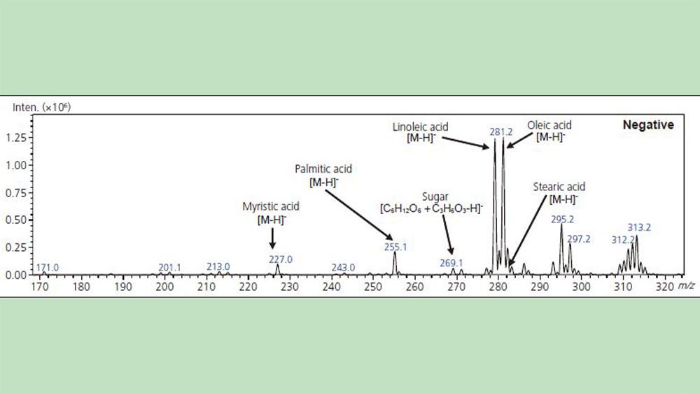 آنالیز اسیدهای چرب برنج با استفاده از دستگاه LCMS-2020